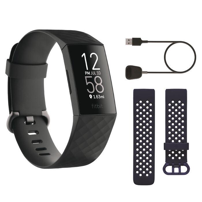 Bracelet d'activité FITBIT CHARGE 4 noir - EDITION NOEL