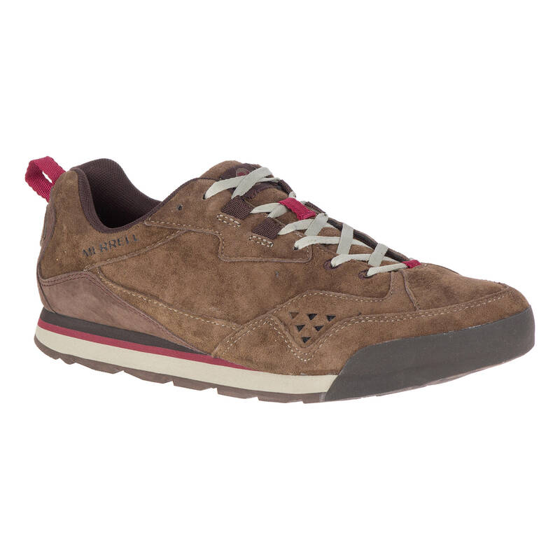 PÁNSKÉ BOTY NA NENÁROČNOU TURISTIKU Turistika - Boty Burntrock hnědé MERRELL - Turistická obuv