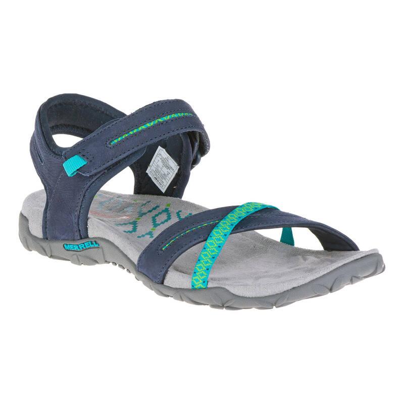 DÁMSKÉ SANDÁLY DO TEPLÉHO POČASÍ Turistika - Sandály Terran Cross modré MERRELL - Turistická obuv