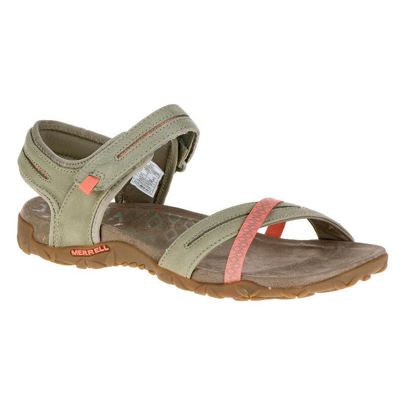Dámské turistické sandály Terran Cross khaki