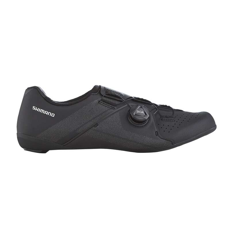 Rennradschuhe Racing Radsport - Shimano Rennrad RC-300 schwarz SHIMANO - Fahrradschuhe und Überschuhe