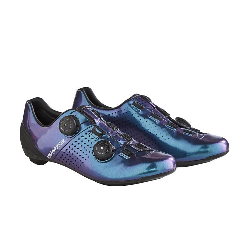 Chaussures de vélo cyclo-sport VAN RYSEL bleu pétrole