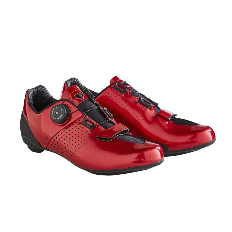 Cyklistické tretry VAN RYSEL Roadr 520 červené