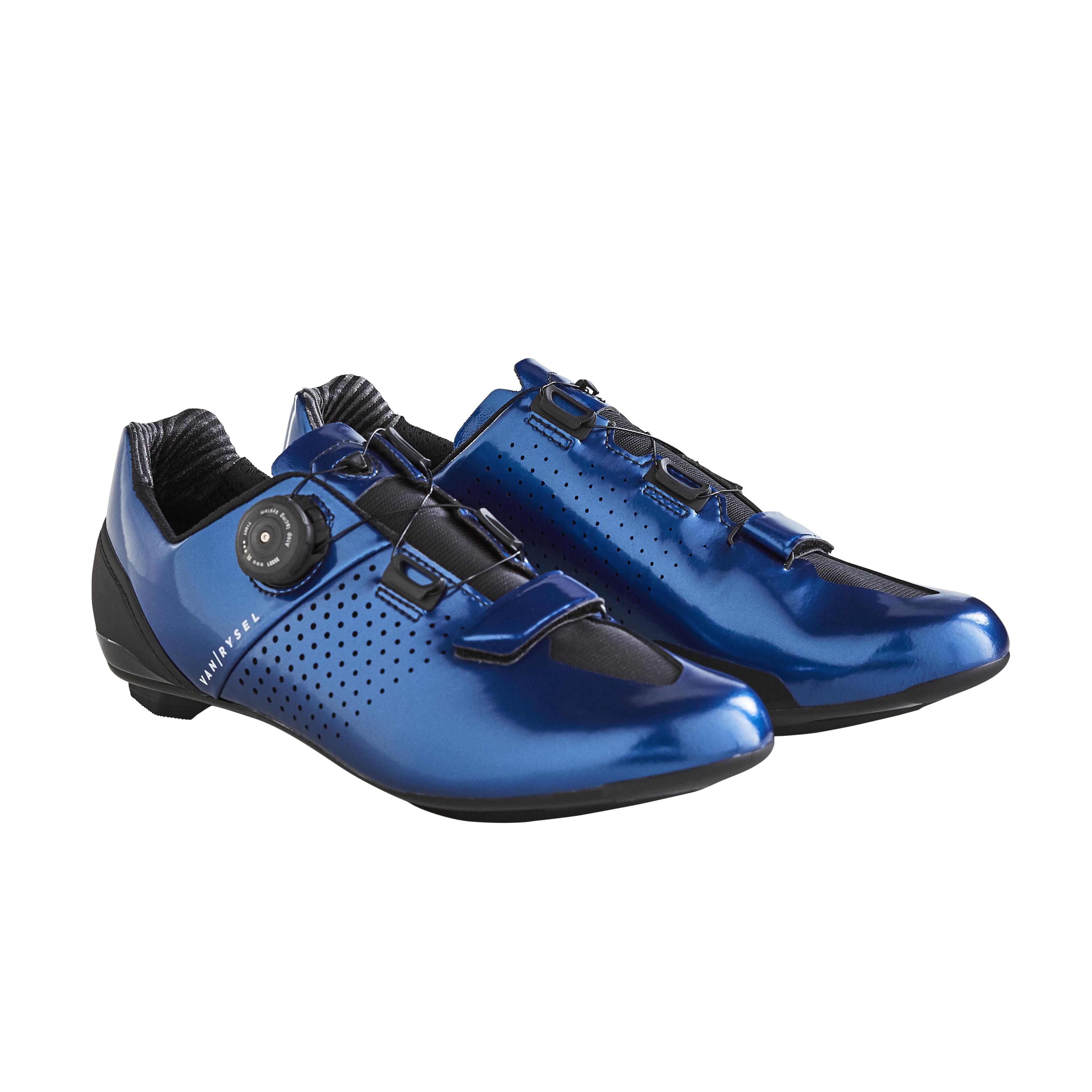 Chaussures de vélo cyclo-sport VAN RYSEL ROADR 520 BLEU