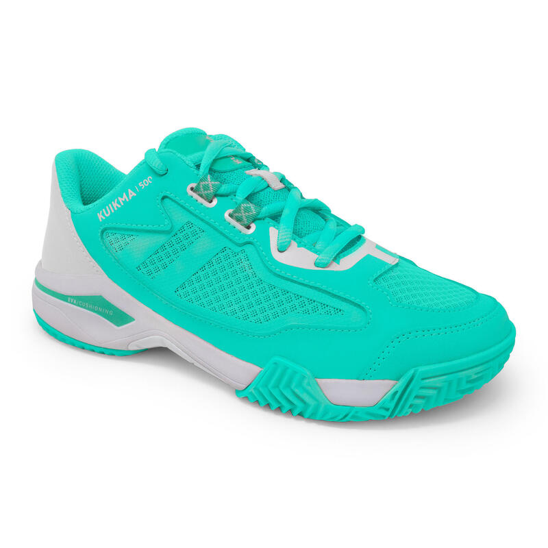 Women's Padel Shoes PS 500 - Turquoise