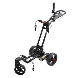 Elektrische golftrolley T Litech zwart