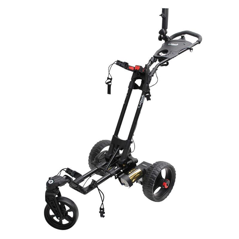 Kocsi golfhoz Golf - Elektromos golf trolley Litech TROLEM - Golf