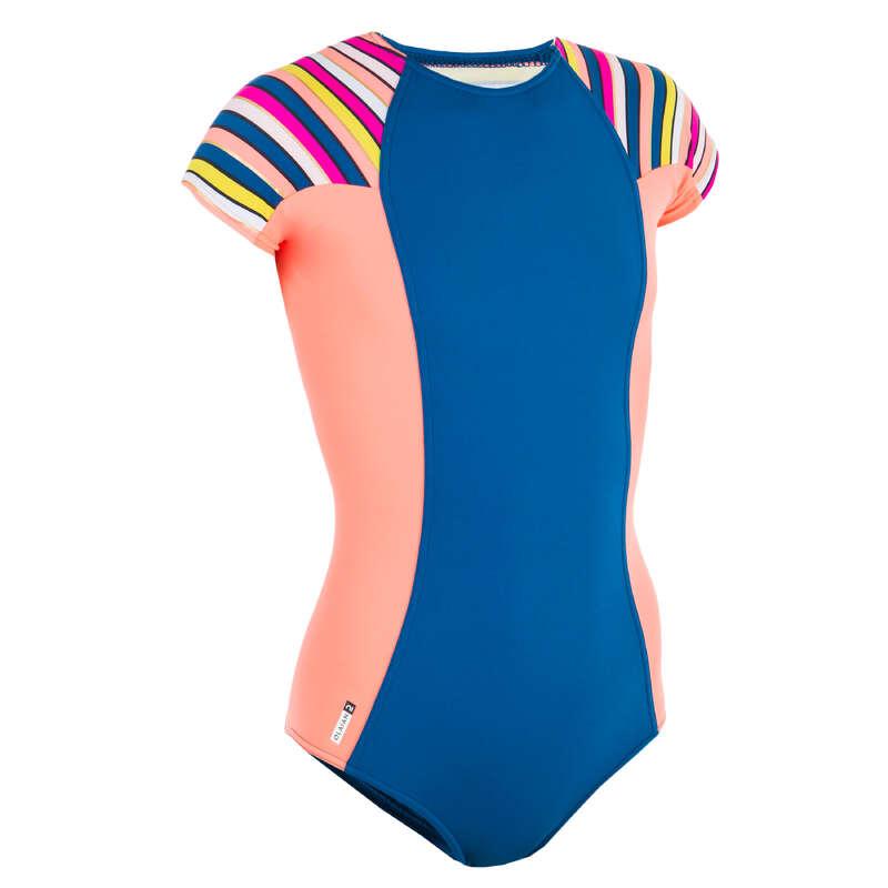Lány fürdőruha Strand, szörf, sárkány - Lány fürdőruha July Stripy OLAIAN - Bikini, boardshort, papucs