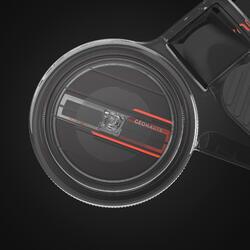 定向越野右指指北針Racer 900-黑色