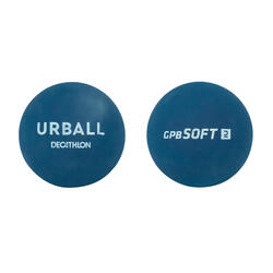 Balles initiation Pelote GPB Soft Bleu (x2)
