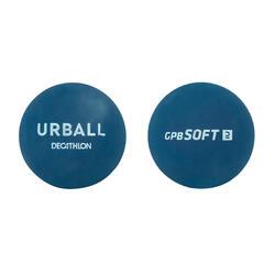 Initiatiebal voor pelota GPB Soft blauw (x2)