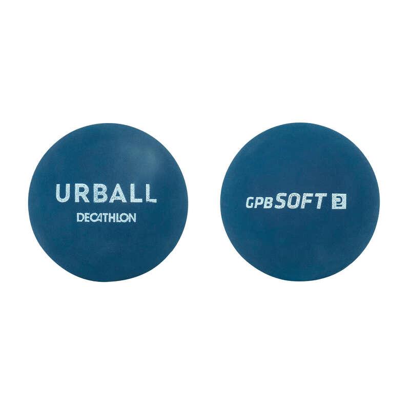 STREET PELOTA Racketsport - Pelotaboll Soft Blå x2 URBALL - Pelota