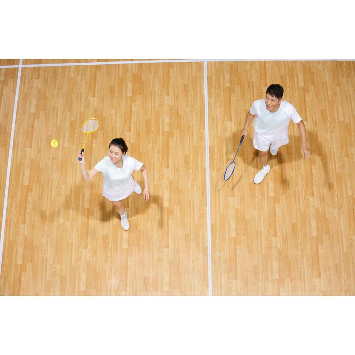 男款羽毛球鞋BS 100 - 白色
