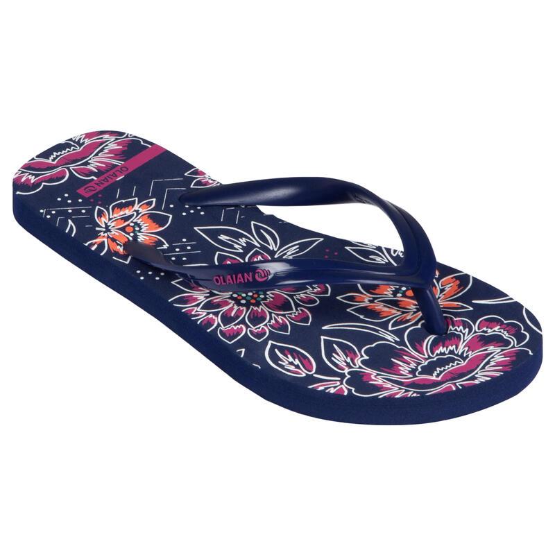 Slippers voor meisjes 120 Inna blauw