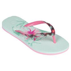 女童款夾腳拖鞋190-美人櫻款