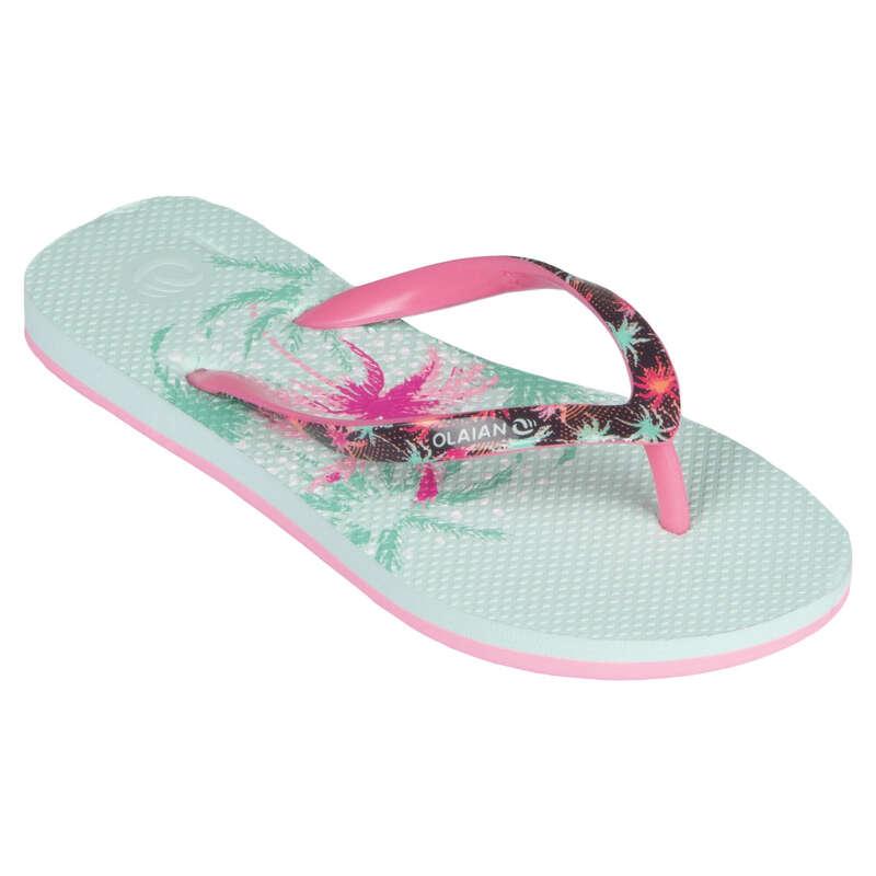 Gyerek papucs Strand, szörf, sárkány - Lány strandpapucs 190 G Koga OLAIAN - Bikini, boardshort, papucs