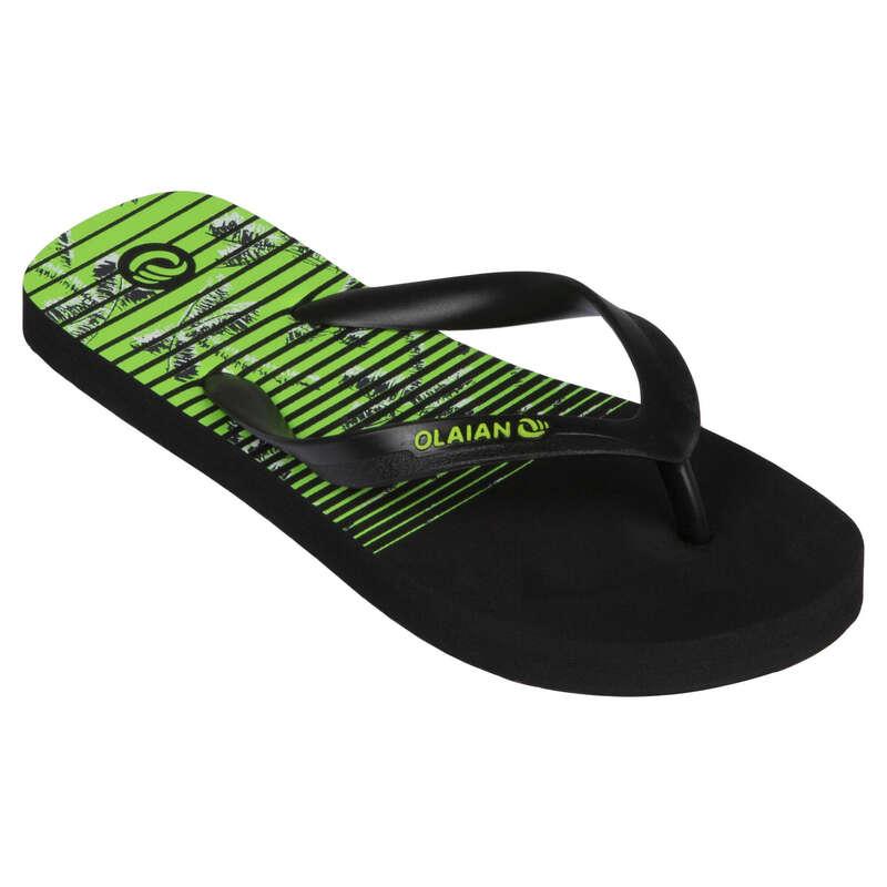 Gyerek papucs Strand, szörf, sárkány - Fiú strandpapucs 120 Kokoline OLAIAN - Bikini, boardshort, papucs