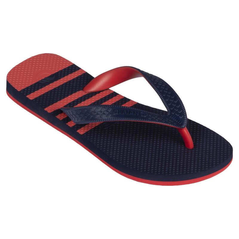 Gyerek papucs Strand, szörf, sárkány - Fiú strandpapucs 190 Up OLAIAN - Bikini, boardshort, papucs