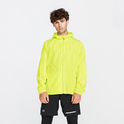 VESTE COUPE VENT RUNNING RUN WIND JAUNE ACIDE FLUO HOMME