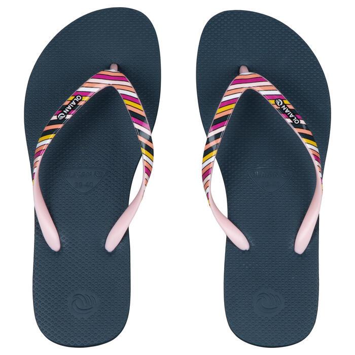 Chinelos de Surf 190 Mulher Riscas