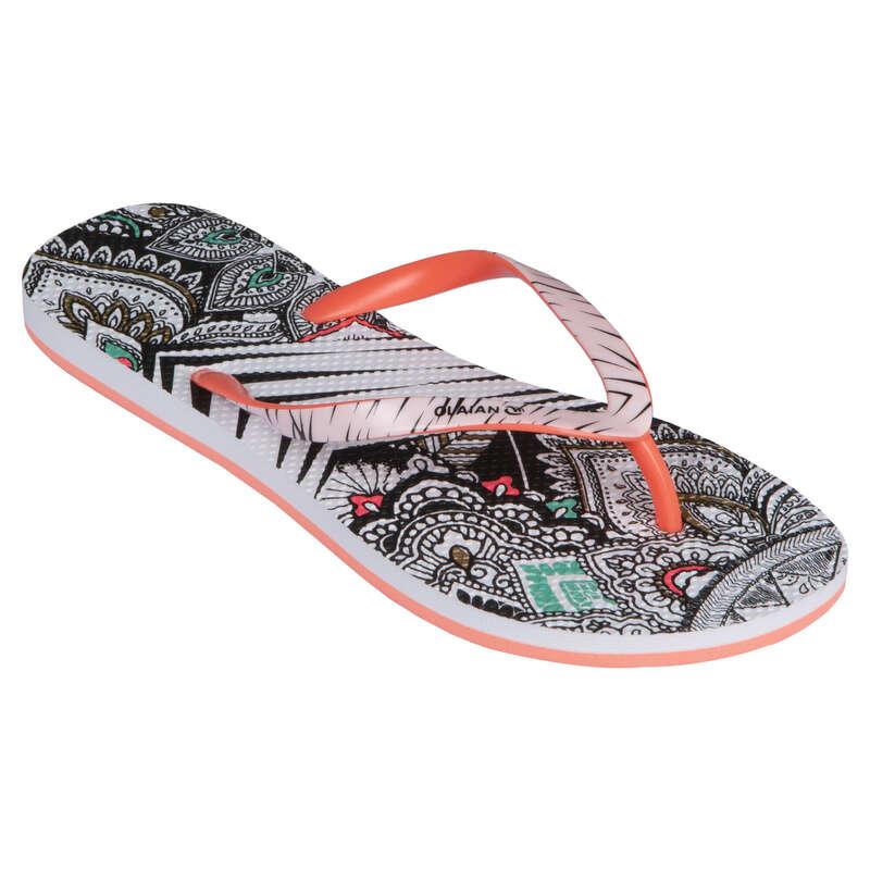Női papucs Strand, szörf, sárkány - Női strandpapucs 190 Manda  OLAIAN - Bikini, boardshort, papucs