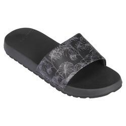 Slippers voor dames SLAP 550 Exotic Zwart