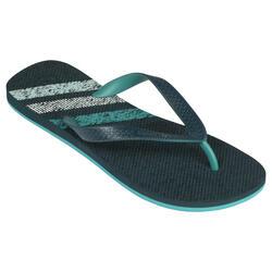 男款夾腳拖鞋190-混合藍色