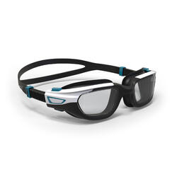 POLARISED SWIMMING GOGGLES - SPIRIT SIZE S SMOKED LENSES - BLACK / WHITE