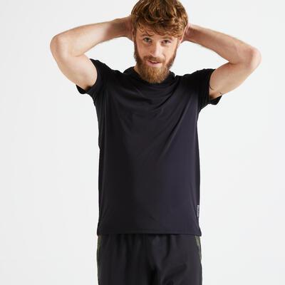 Slim-Fit Technical Fitness T-Shirt - Black