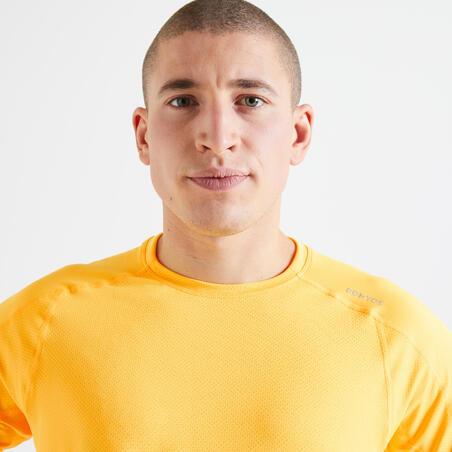 100% Mesh Technical Fitness T-Shirt - Mango Orange