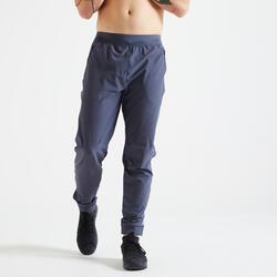 Trouser Fitness dark grey slim.