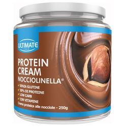 Crema proteica Protein cream Ultimate alla nocciola senza glutine 250 g