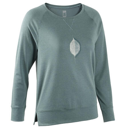 Long-Sleeved Stretch Cotton Fitness T-Shirt