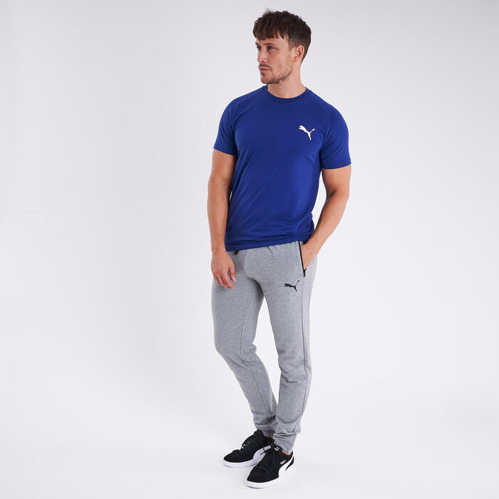 Pantalon de survêtement Puma Coton Bio Fitness Gris
