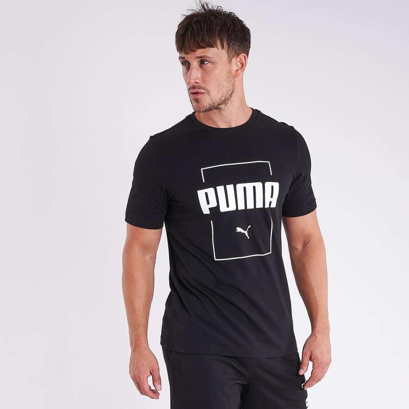 FÉRFI PÓLÓ, RÖVIDNADRÁG Fitnesz - Férfi póló Puma PUMA - Fitnesz ruházat és cipő