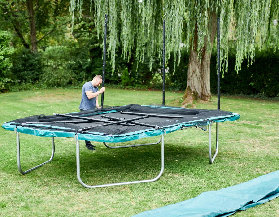 Comment entretenir son trampoline pendant l'hiver ?