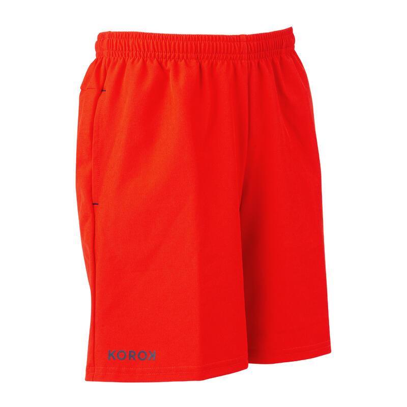Boys' Field Hockey Shorts FH500 - Red