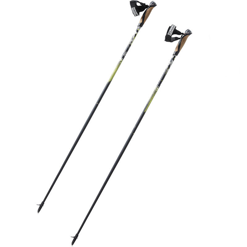Bâtons marche nordique PW P900 noir / jaune