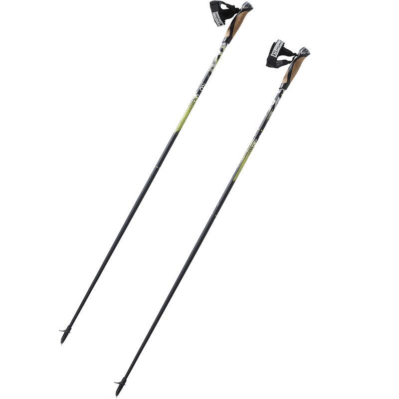Bastoncini nordic-walking PW P900 nero-giallo