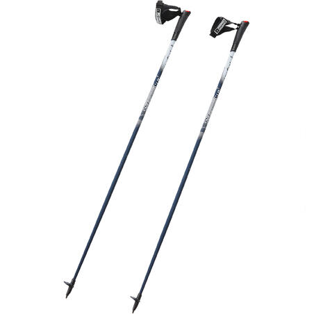 PW P500 Nordic walking poles - blue