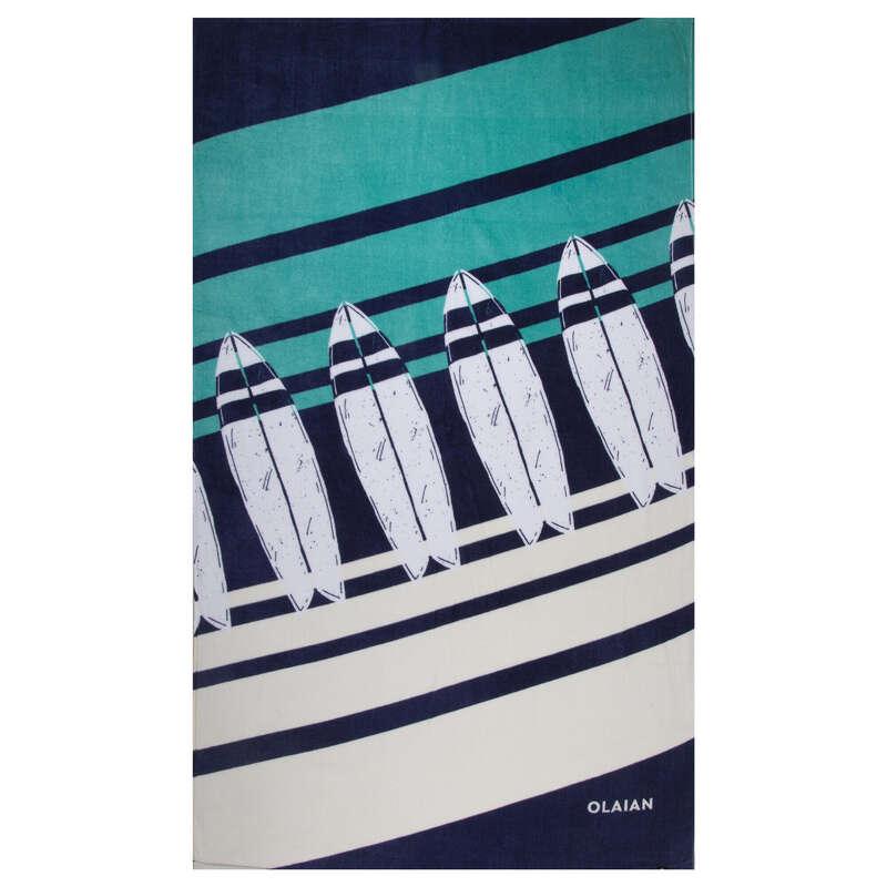 Strandlepedő Strand, szörf, sárkány - Törölköző, 145x85 cm, Board OLAIAN - Strand, szörf, sárkány
