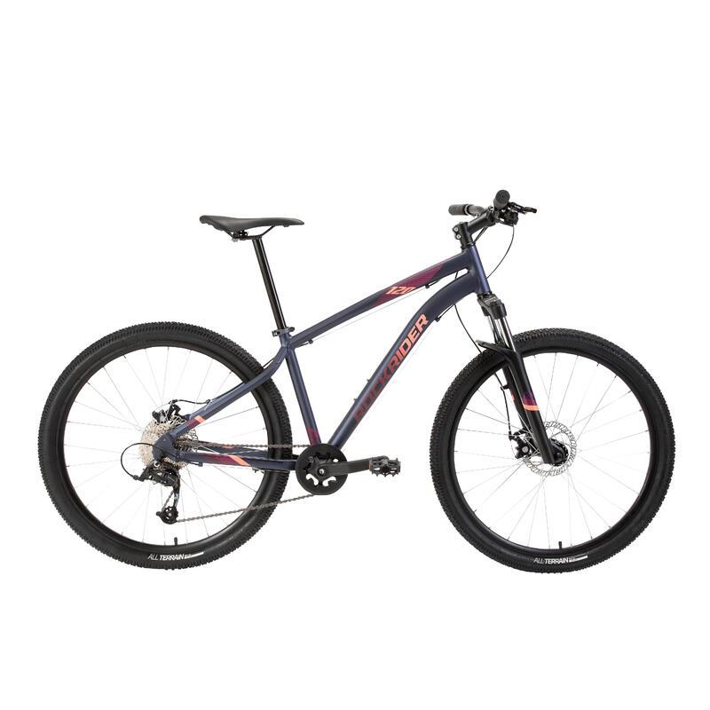 """Bicicleta de MONTAÑA ST 120 Mujer AZUL MARINO 27,5"""""""
