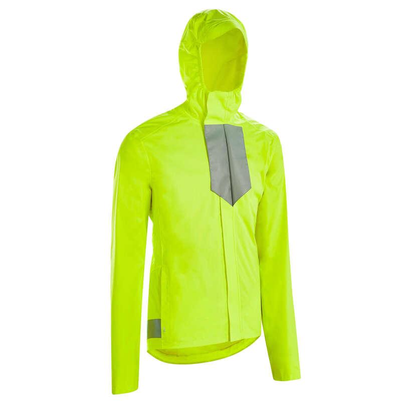 Városi kerékpáros ruházat esős időre Kerékpározás - FÉRFI KERÉKPÁROS KABÁT 560-AS BTWIN - Kerékpáros ruházat