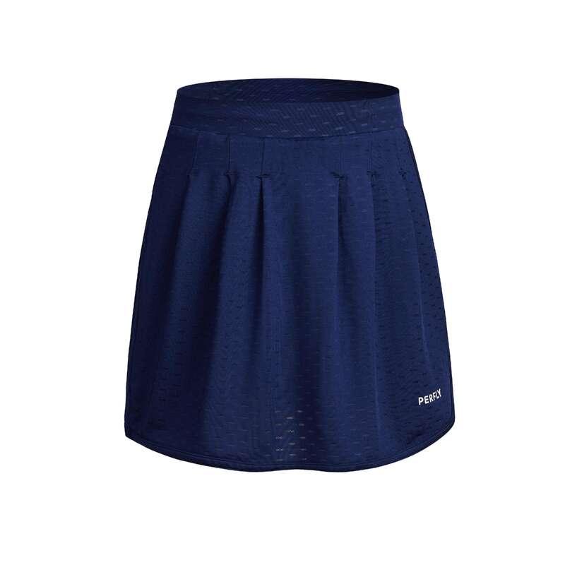 DJEČJA ODJEĆA ZA BADMINTON Stolni tenis - Suknja 560 tamnoplava PERFLY - Oprema za klubove