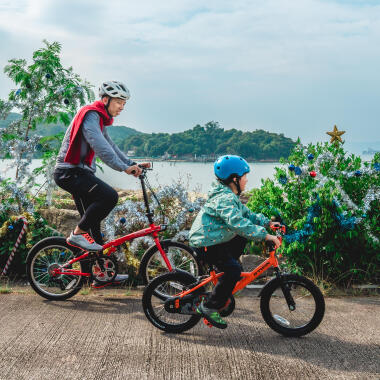 CHRISTMAS BIKE TOUR! 3 DIFFERENT ROUTES TO KEEP ACTIVE THIS CHRISTMAS