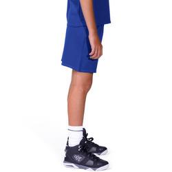Basketbalbroekje B300 kinderen blauw - 194785