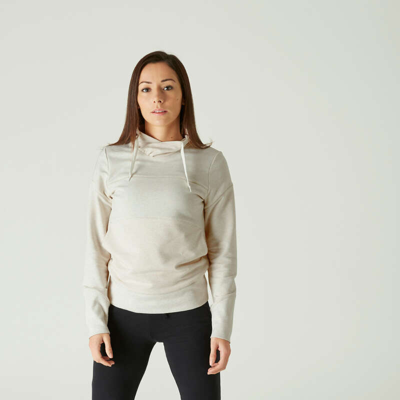 KADIN PANTOLON, MONT Pilates - 520 SWEATSHIRT DOMYOS - All Sports
