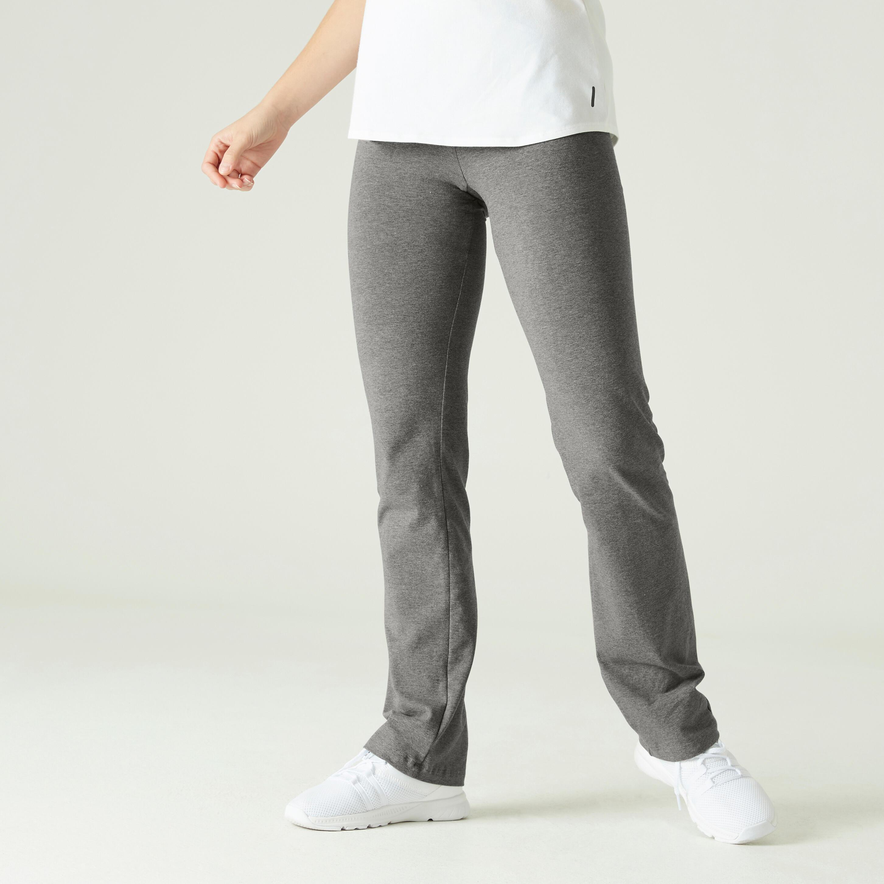 Pantalon 500 Gri Damă la Reducere poza