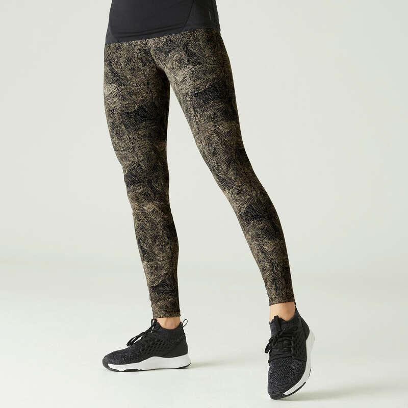 NŐI PÓLÓ, LEGGING, RÖVIDNADRÁG Fitnesz - Női leggings 900-as NYAMBA - Fitnesz
