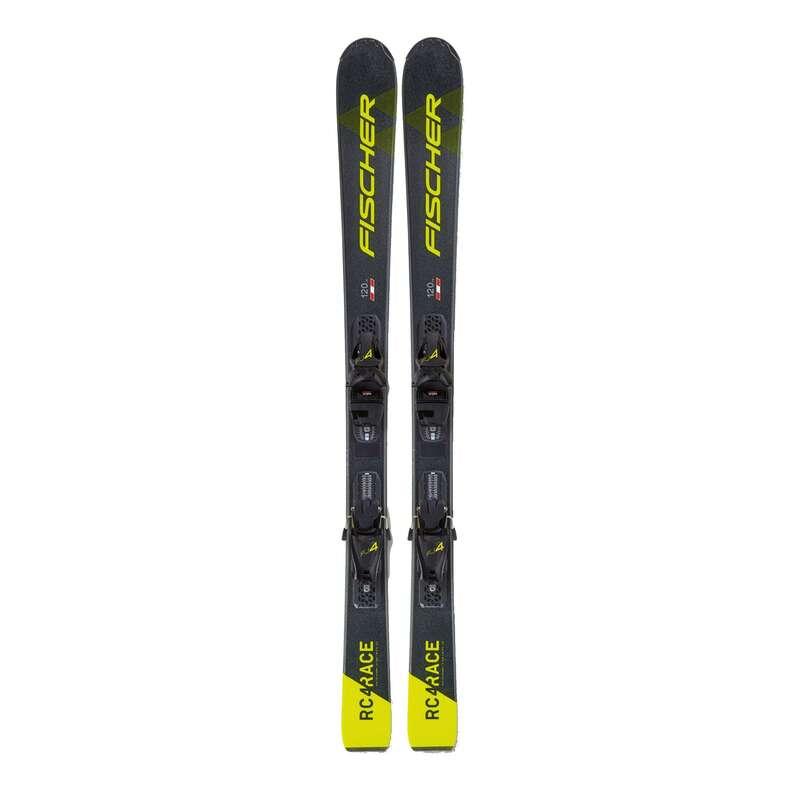 ДЕТСКАЯ ЭКИПИРОВКА ДЛЯ ТРАССОВОГО КАТАНИЯ НА ЛЫЖАХ Горные лыжи - Ski JR Fischer RC4 RACE JR SLR FISCHER - Горные лыжи